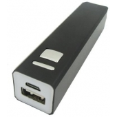 Powerbank ZWART 2.600 mAh